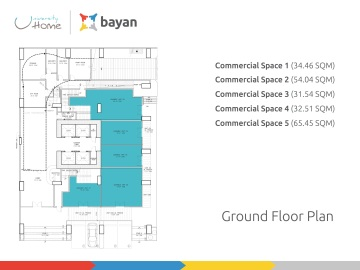 uHome floor plan GF
